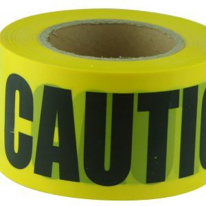 BTC710 CAUTION Black on Yellow Tape
