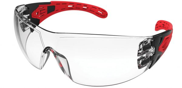 EVO370 Clear Evolve Safety Glasses with gasket and strap