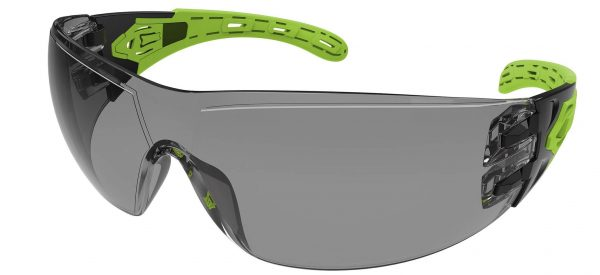 EVO370 Smoke Evolve Safety Glasses with gasket and strap