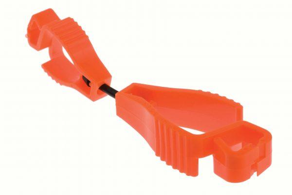 GGG115 - Orange 'MaxiClip' Glove Clips