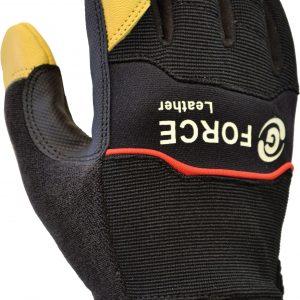 GML158a G-Force 'Leather' Mechanics Glove