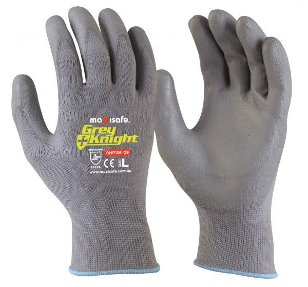 GNP136c 'Grey Knight' PU Coated Glove