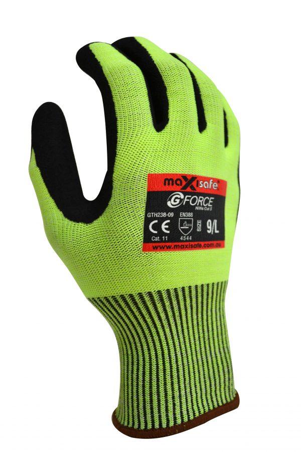 GTH238b G-Force HiVis Cut Level C Glove