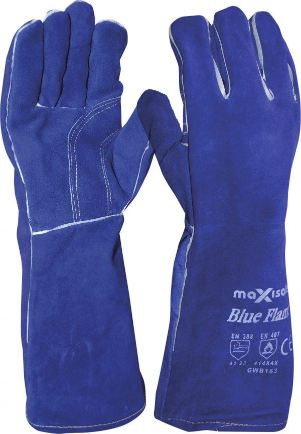 GWB163c 'Blue Flame' Premium Kevlar Welder's Glove