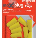 HEU669 MaxiPlug Earplugs 5 Pack