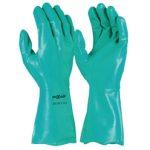 GNF127 - Maxisafe Green Nitrile Chemical Glove – 33cm