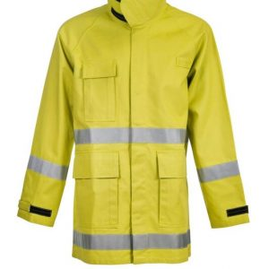 FWPJ105 Ranger's Wildland Fire - Fighting Jacket With Fr Reflective Tape Front