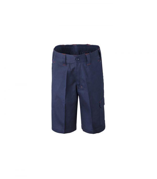 WPK502 Kids Midweight Cargo Cotton Drill Shorts N1