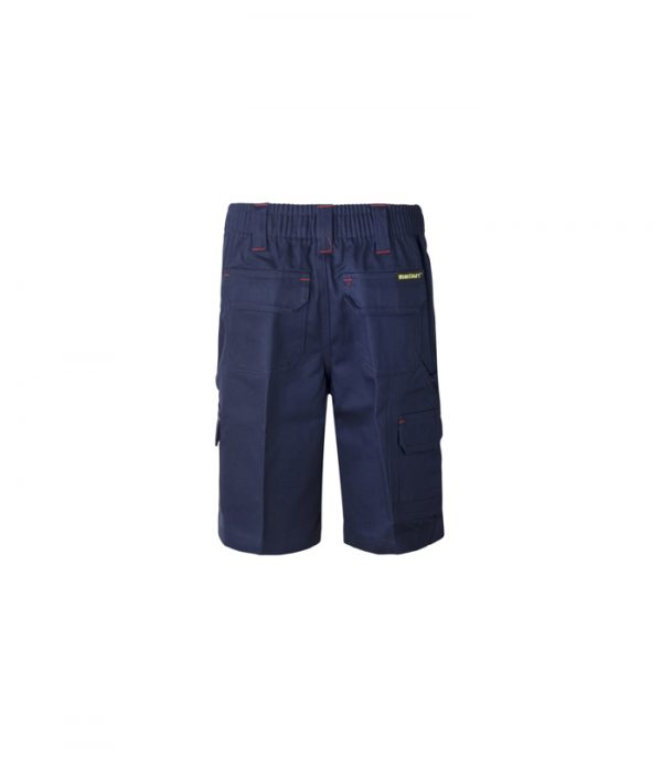 WPK502 Kids Midweight Cargo Cotton Drill Shorts N2
