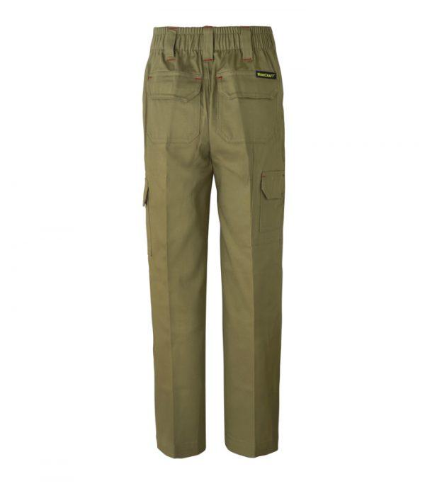 WPK503 Kids Midweight Cargo Cotton Drill Trouser K2