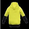 WK8009 Kids Two Tone Hoodie - brushed Back Fleece Yellow2