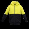 WK8009 Kids Two Tone Hoodie - brushed Back Fleece Yellow1
