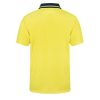 WSP401 HI VIS TWO TONE SHORT SLEEVE COTTON BACK POLO WITH POCKET NY2