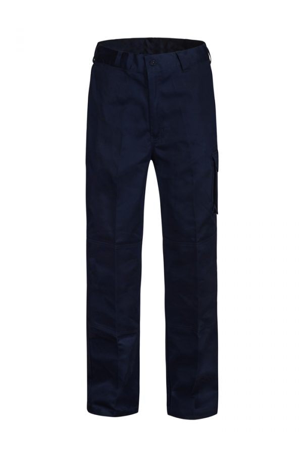 WP3060 Mid-weight Cargo Cotton Drill Trouser NVY1
