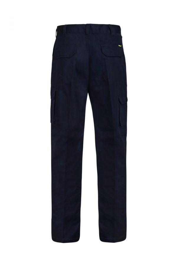 WP3060 Mid-weight Cargo Cotton Drill Trouser NVY2