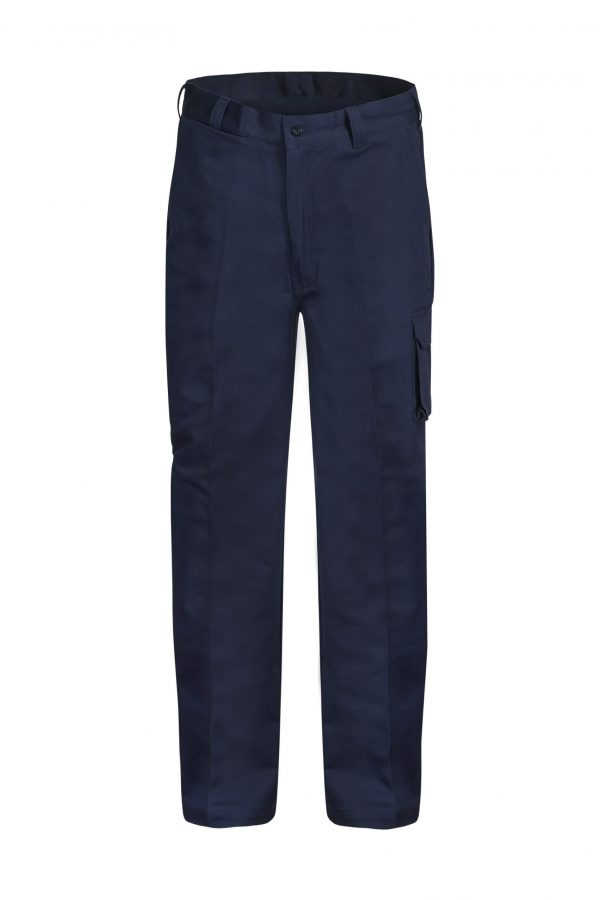 WP3068 Cargo Cotton Drill Trouser NVY1