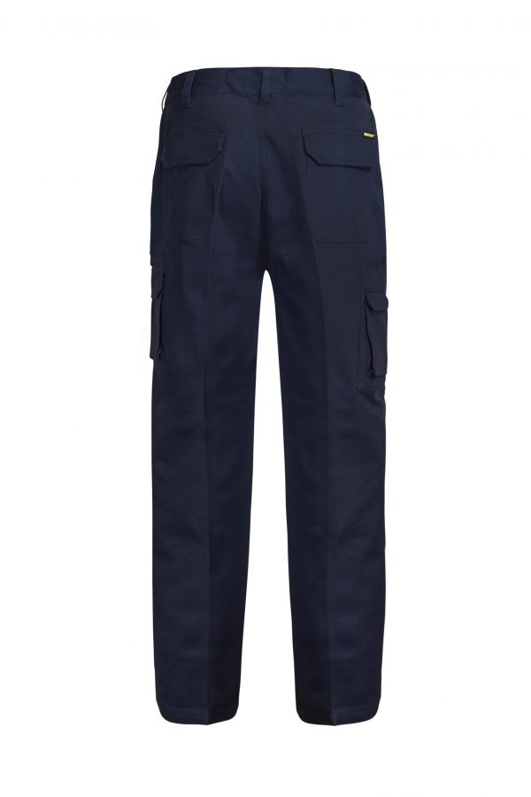 WP3068 Cargo Cotton Drill Trouser NVY2