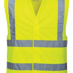 C470 - Hi-Vis Two Band & Brace Vest Y1