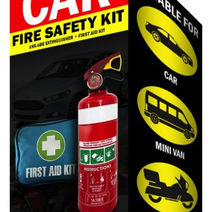 Car Fire Safety Kit