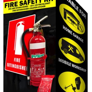 Garage Fire Safety Kit