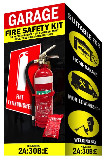 Garage Fire Safety Kit