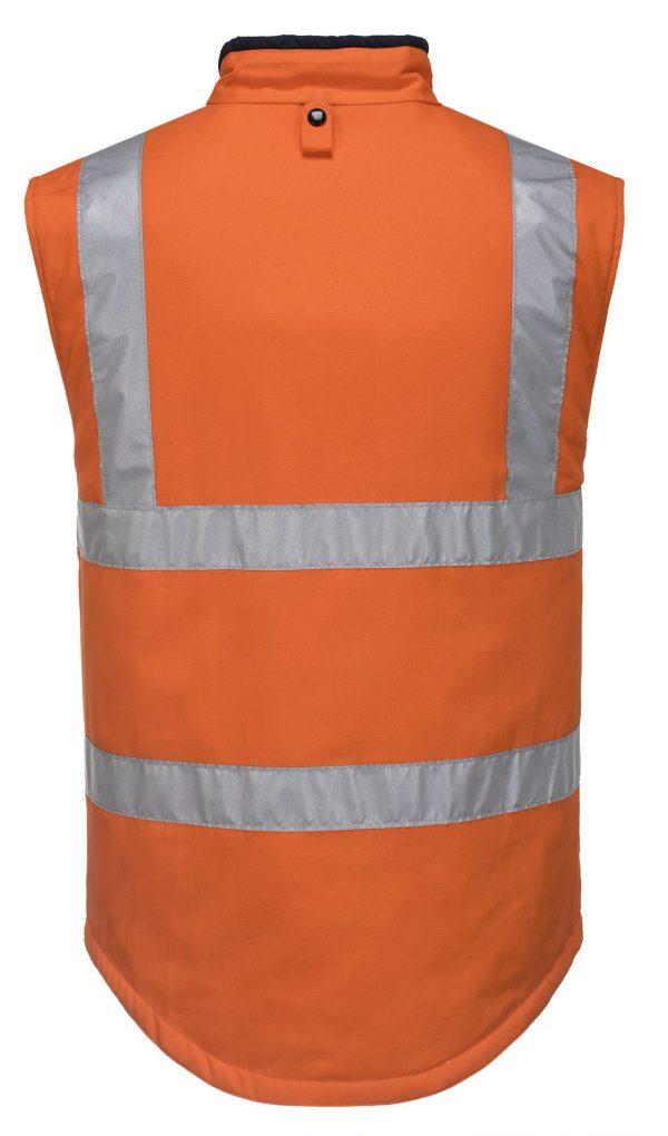 MV278 - 100% Cotton Reversible Vest O2