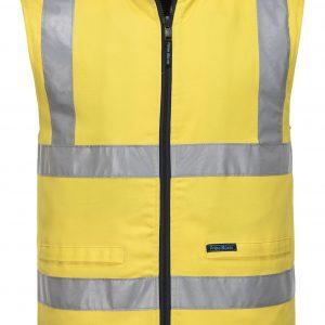 MV278 - 100% Cotton Reversible Vest Y1