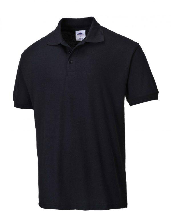 B210 - Naples Polo Shirt BLK