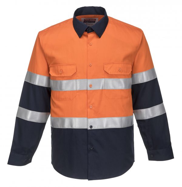 FR04 - ARC2 Portflame Shirt ORG1