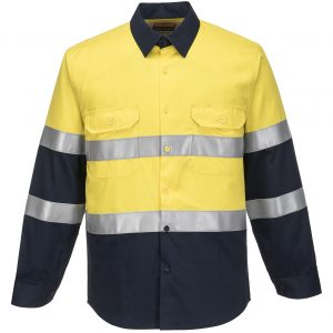 FR04 - ARC2 Portflame Shirt YEL1