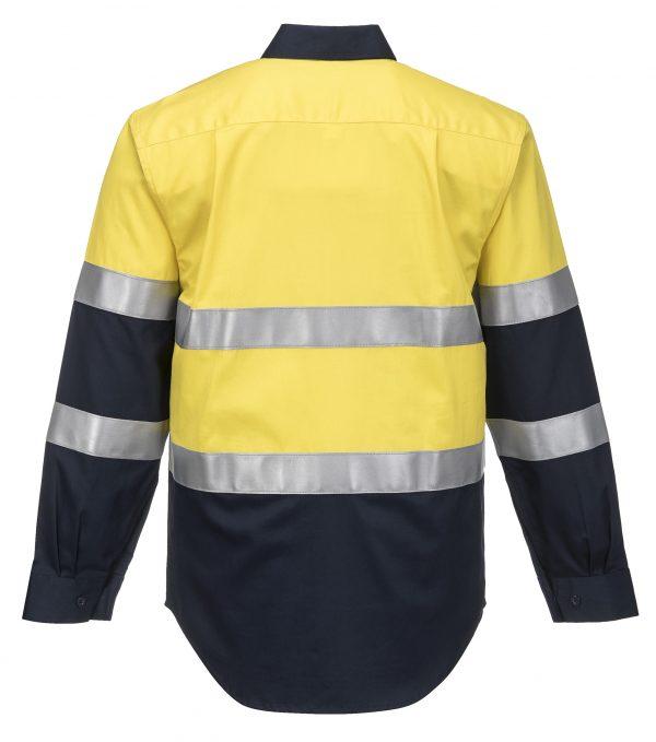 FR04 - ARC2 Portflame Shirt YEL2