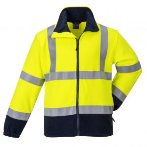 FR31 - Flame Resistant Anti Static Hi-Vis Fleece - Portwest YEL1