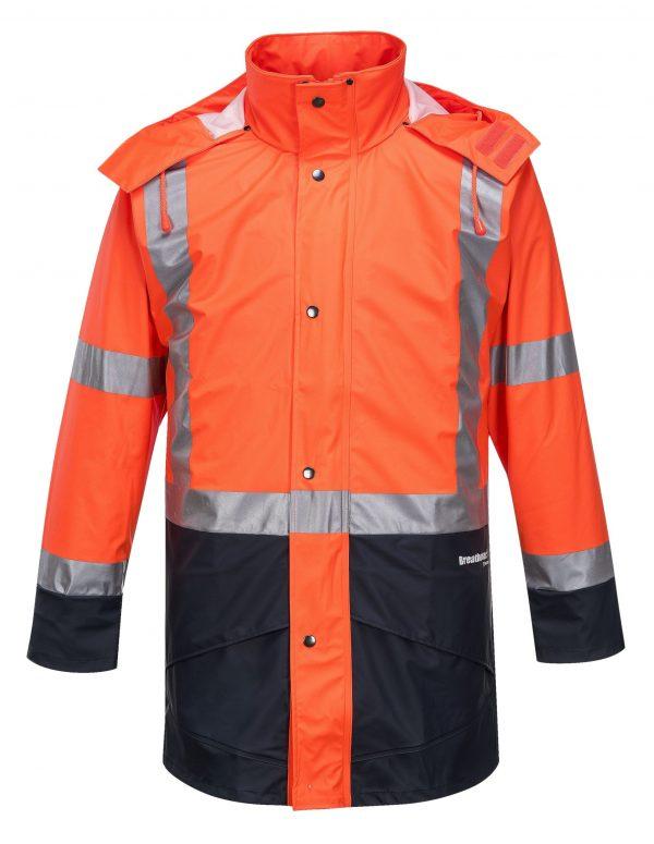 K8104 Farmers Hi-Vis Waterproof Jacket ORG