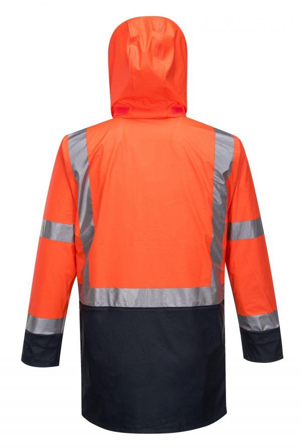 K8104 Farmers Hi-Vis Waterproof Jacket ORG3