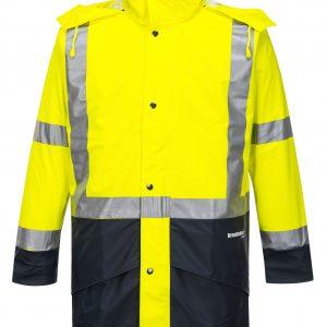 K8104 Farmers Hi-Vis Waterproof Jacket YEL