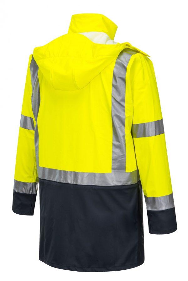 K8104 Farmers Hi-Vis Waterproof Jacket YEL2