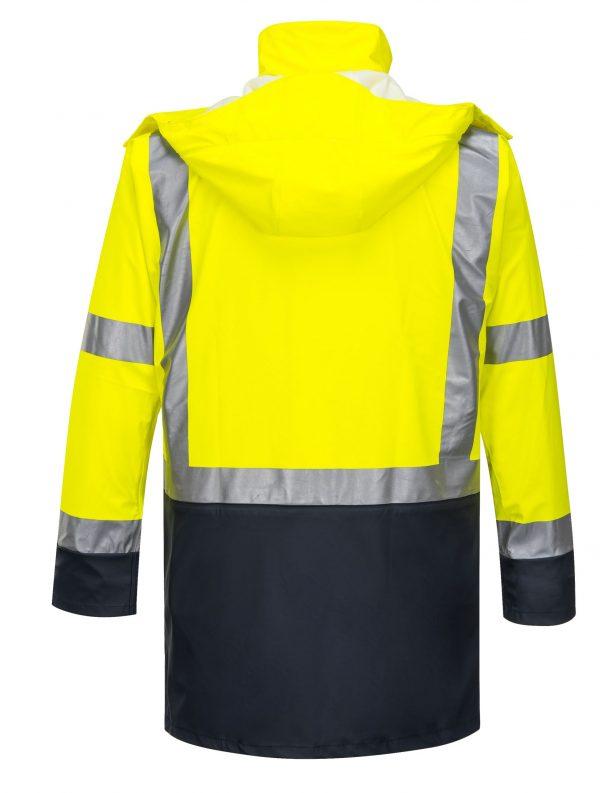 K8104 Farmers Hi-Vis Waterproof Jacket YEL3