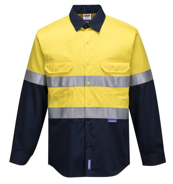 MF101 - Flame Resistant Shirt - Prime Mover YEL1