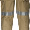 MP701 - Cotton Cargo Pants with Tape - Prime Mover KHA2