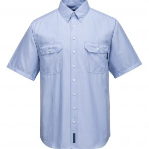 MS869 - Adelaide Shirt, Poly Cotton Short Sleeve, Light Weight