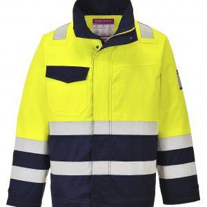 MV25 - ARC2 Anti-Static Hi-Vis Modaflame Jacket - Portwest YEL