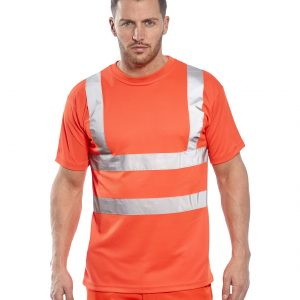 RT23 - Rail Spec Hi-Vis T-Shirt