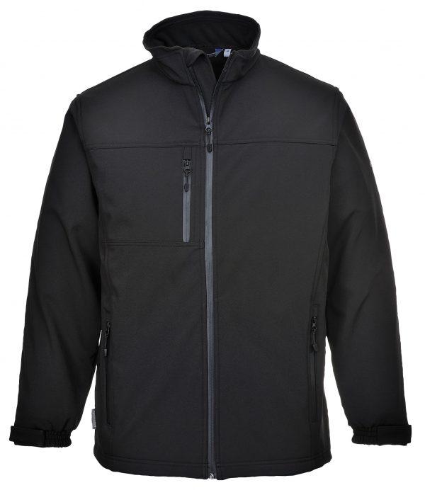 TK50 - Softshell Jacket 3 Layer BLK