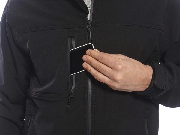 TK50 - Softshell Jacket 3 Layer BLK3