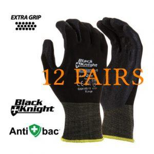 GNN192 - Black Knight Gripmaster Glove 12 Pairs