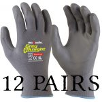 GNP136c - Grey Knight Glove 12 Pairs