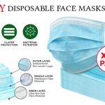 3 ply Face Masks Info