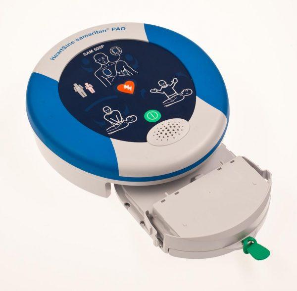 HeartSine Samaritan RD500 AED side