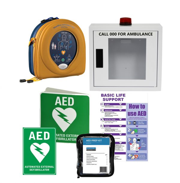 HeartSine Samaritan RD350 AED Alarmed Bundle
