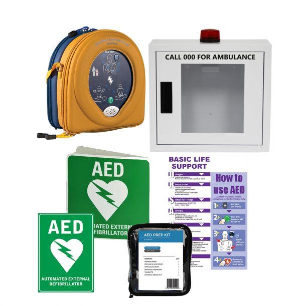 HeartSine Samaritan RD360 AED Alarmed Bundle